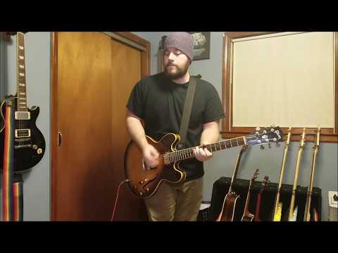 Blink 182 - Ghost On The Dance Floor (Guitar Cover)