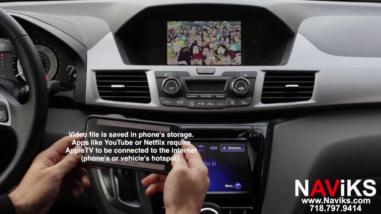 maxresdefault 2016 honda odyssey naviks hdmi video interface apple tv 3 p2p  at nearapp.co
