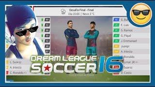 ZERANDO Dream League Soccer - O último desafio - Enfrentando meu prórpio time/SALVES