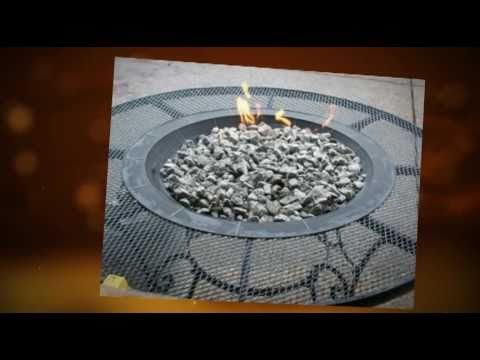 Build A Gas Fire Pit  YouTube