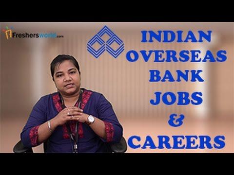Indian Overseas Bank Recruitment 2017– PO, Clerk, CA,IBPS Jobs, Exam dates & results