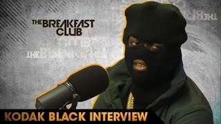 Kodak Black Talks Being The Best Rapper, Exposing Himself in the Shower & Being Locked Up