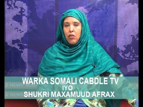 WARARKA SOMALI CABLE IYO SHUKRI AFRAX 28 05 2016