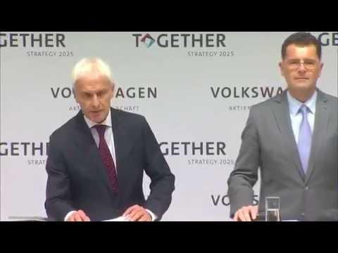 Volkswagen Group Strategy 2025 - Speech Matthias Müller Part 1