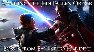 Ranking the Star Wars Jedi Fallen Order Bosses from Easiest to Hardest