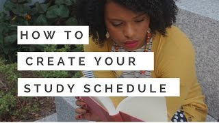 This is the Study Schedule That Will Keep You Sane This Semester
