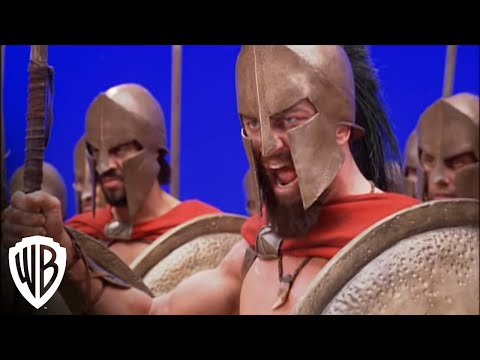 300-|-a-glimpse-from-the-set:-making-300-the-movie-|-warner-bros.-entertainment