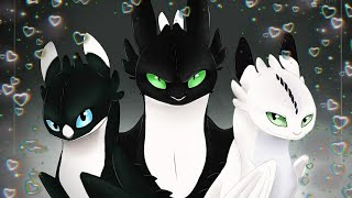Httyd-tribute Night lights (remasted)