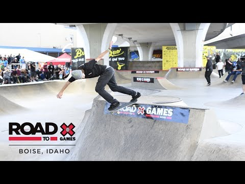 Make Tom Schaar qualifies first | Road to X Games Boise Qualifier Pics