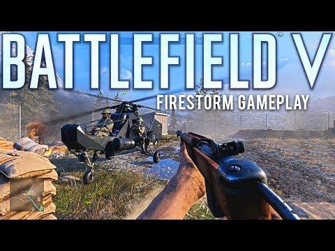 Firestorm Gameplay and Impressions Battlefield 5