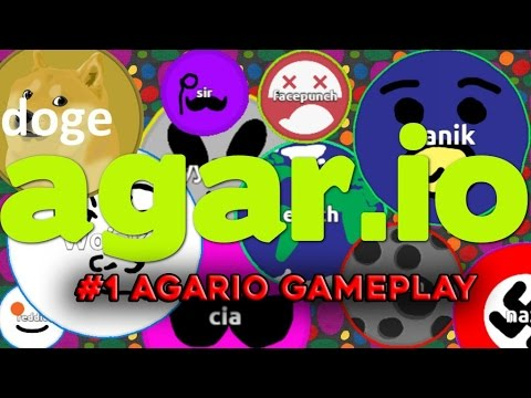 Agar.io Mobile First GAMEPLAY