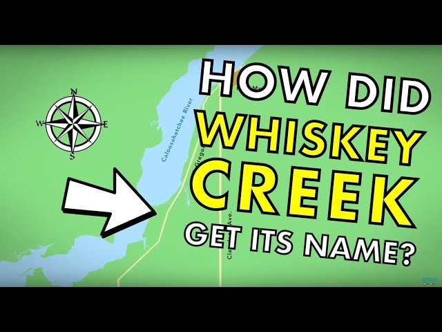 How did Whiskey Creek get its name? - Curious Gulf Coast