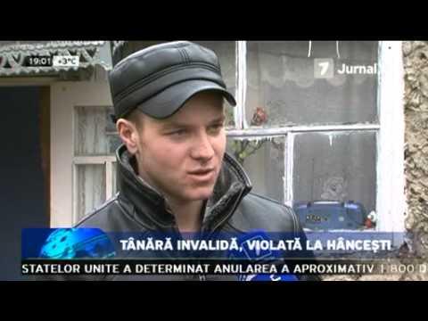 Tânara invalida, violata la Hâncesti