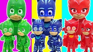 clone pj masks appeared defeat the robot pj masks dudupoptoy
