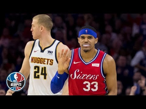 8c1d949c2 Tobias Harris makes his 76ers debut in win vs. Nuggets