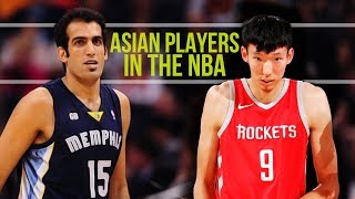 Basketball Players from Asia Who Played in the NBA