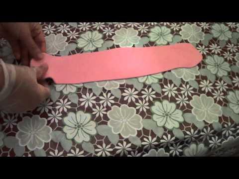 Украшения из мастики. Бантик из мастики  для торта
