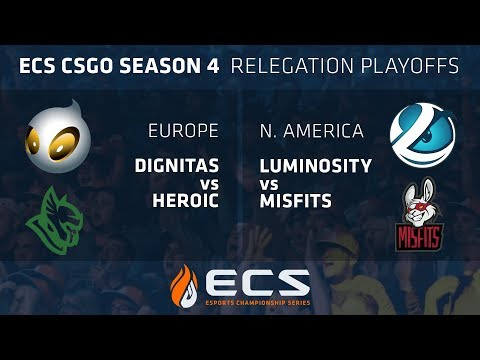 ECS S4 Promotional Matches Day 1: Luminosity vs Misfits