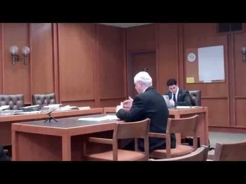 1 Senator Bradley presenting legislation to NH Senate Energy Committee, March 5, 2014