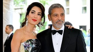 Rare sighting of George Clooney, wife Amal and their adorable twins in Italy