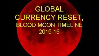 Global Currency Reset, Blood Moons Time Line 2015 16