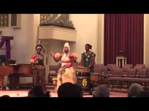 GCSE Spring Cabaret African Dance Part 1