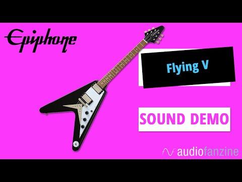 Epiphone Flying V : du rock'n'roll entre les mains ? (Sound demo)