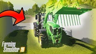Praca na Silosie John Deere | Farming Simulator 19
