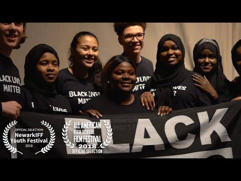 Black Lives Matter Flag Raising at Burlington High School