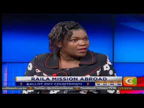 Power Breakfast: Raila Mission Abroad