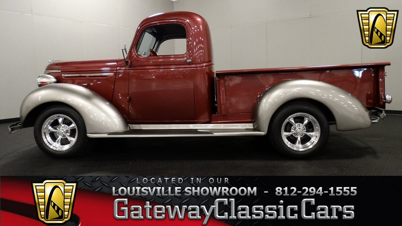 Truck 1940 chevy truck for sale : 1940 Chevrolet Truck - Louisville Showroom - Stock # 1181 - YouTube