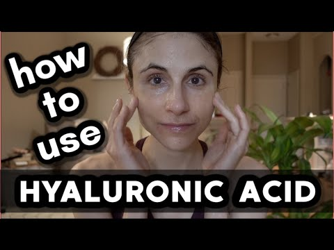 How to use a hyaluronic acid serum| Dr Dray