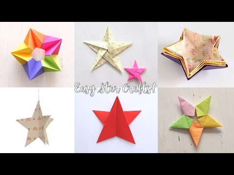 DIY Easy Star Crafts | Origami Star | Paper Folding Craft