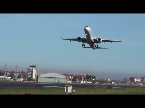 Embraer ERJ-195 Air Europa EC-LKX despegue pista 22 EAS/LESO