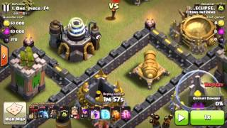 Clash of Clans How to PERFECT A WAR!!! 30 STARS&100% Total Damage!!!