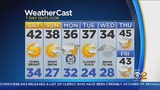 New York Weather: CBS2 2/16 Weekend Forecast at 9AM