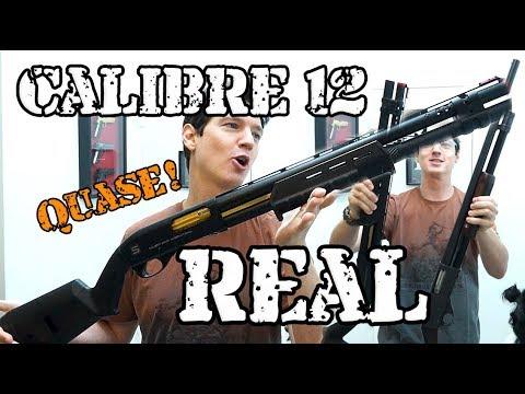 Shotgun 12 Quase REAL - Salient Arms - Eagle Speedy Quebrando A PORTA!
