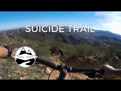 Mountain Biking Thousand Oaks California - Suicide Trail