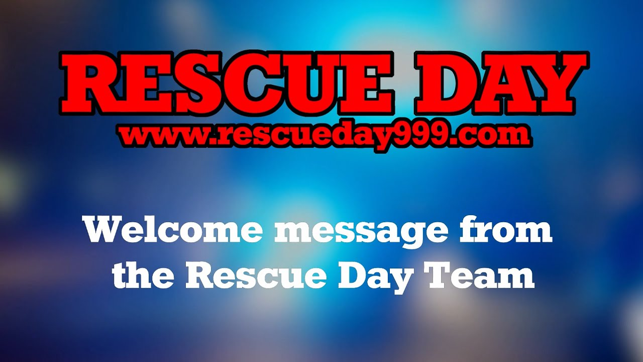 Welcome to Virtual Rescue Day 2020