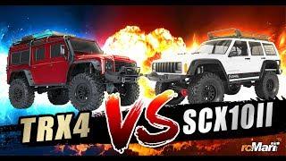 Traxxas TRX-4 vs. Axial SCX10 II