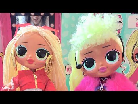 Наши подарки ,куклы Svag и Diva от OMG
