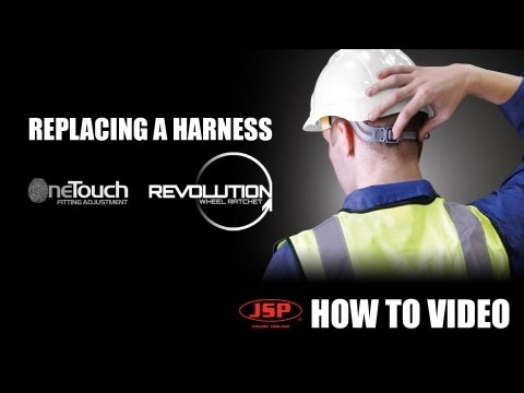 Replacing a harness on your JSP Mk Evolution® safety helmet Travel Video