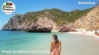 Praia do Ribeiro do Cavalo, Sesimbra 1080p