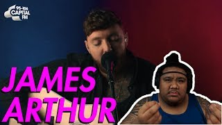 James Arthur - Sermon (Capital Live Session) [MUSIC REACTION]