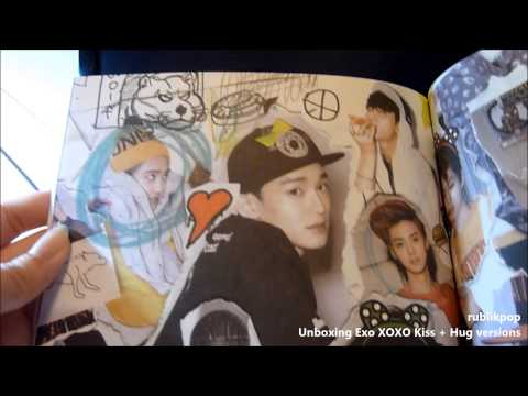 EXO 1st Album XOXO KISS + HUG VERSION UNBOXING