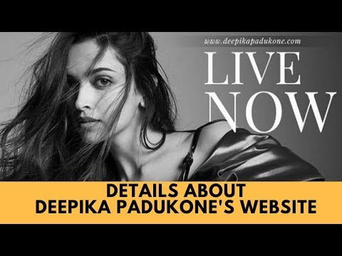 Here's all that you need to know about Deepika Padukone's website Mp3