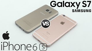 iPhone 6s vs Samsung Galaxy S7 | Comparativa completa en Español