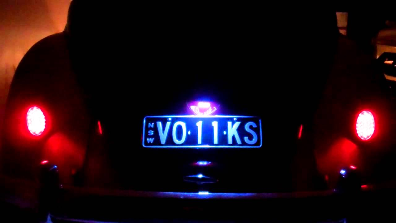 led taillights aircooled vw beetle blinker brake tail light vollkscomau youtube