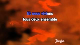 Karaoké Les feuilles mortes - Pierre Lalonde *