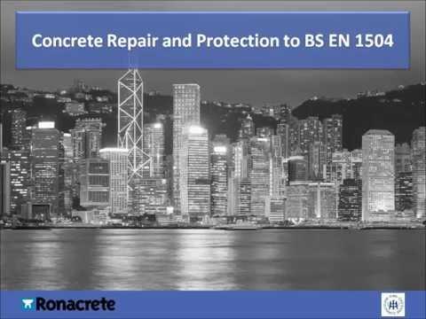 Concrete Repair & Protection to BS EN 1504